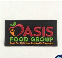 Bordir Teknik dan Iron-On Gaya Kustom Oasis Embridered Patch