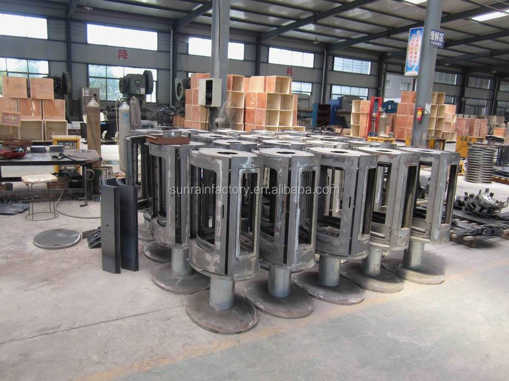 high output wood stove/solid fuel stove/cast iron stove