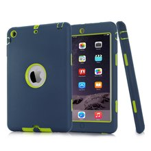 Screen Protector Film+Stylus Pen For iPad mini 1 2 3 Retina Kids Baby Safe Armor Shockproof Heavy Duty Silicone Hard Case Cover