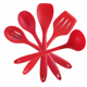 Best Selling Heat-Resistant Silicone Kitchen Tools Cooking Utensil Set(5pcs)