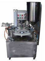 Automatic Yogurt cup filling and sealing machine
