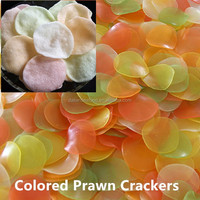 Colored Prawn Cracker Deep-fried Seafood hot Sell in Asian Countries