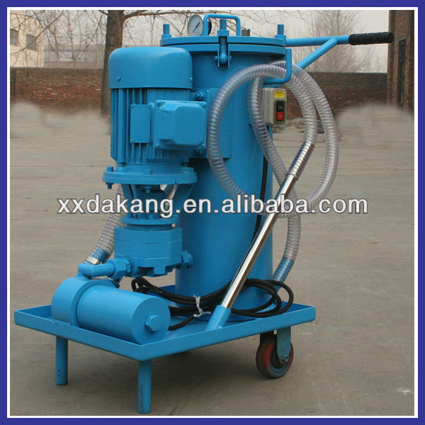 Bulk stainless steel 3-100 micron oil filter machine