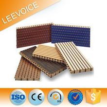 acoustic melamine decorative wall covering panel meet sound system