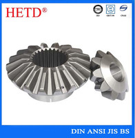 high quality aluminum bevel gear small straight or helical bevel gear precision bevel gear