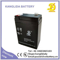 6v4.5ah rechargeable storage battery for electric scales