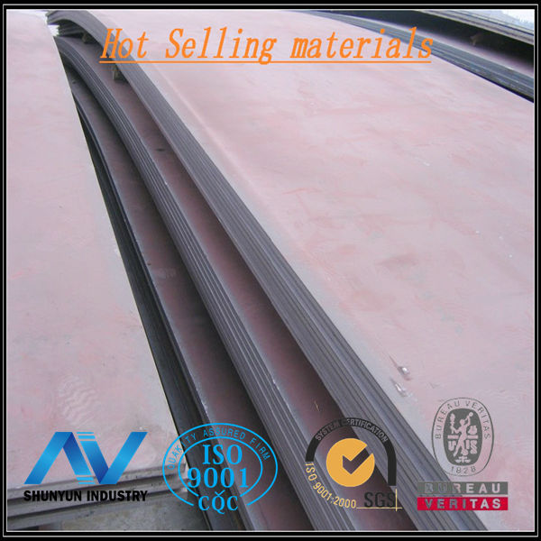 GB Standard Q345R Grade 2mm Hot Rolled Steel Plate For Vessel Fabricating Application