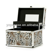 2014 Aluminium Cosmetic Make Up Beauty Case with mirror