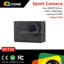HD bike helmet action camera with quality assurance sport action camera