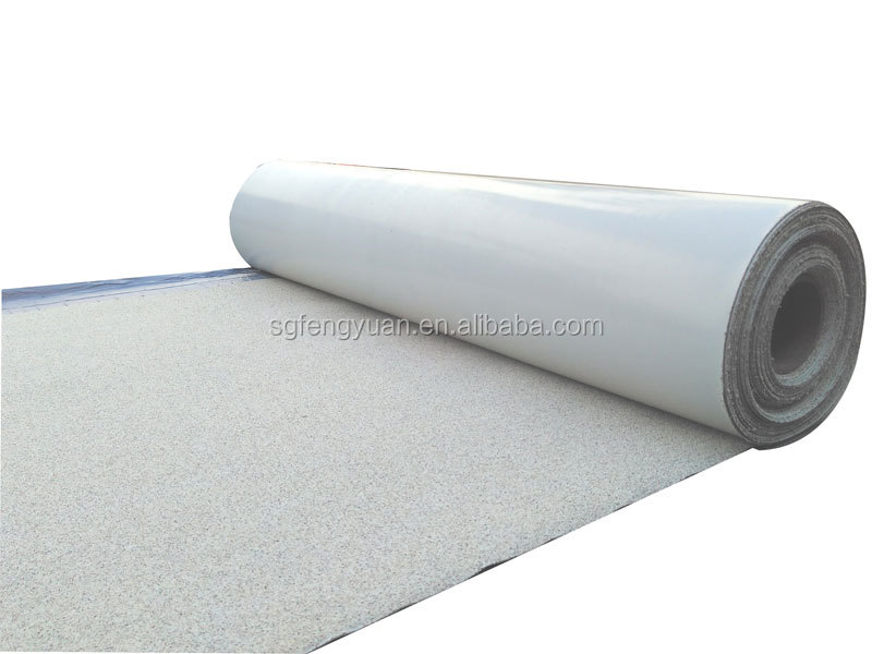 china higher quality no asphalt self-adhesive waterproof membrane price