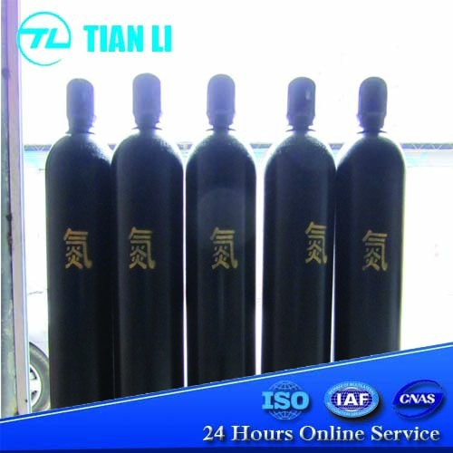 25 L - 50 L High Pressure Seamless Steel Nitrogen Gas Cylinder Price
