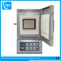 Laboratory high temperature muffle furnace/high temperature small pottery ceramic kiln with CE