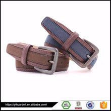 Factory price 3.5cm automatic buckle man leather belts