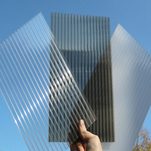 polycarbonate pc panels double wall lightweight plastic roofing materials