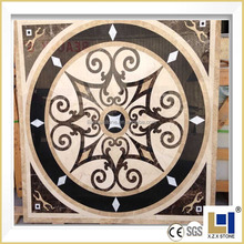 factory direct sell Chinese popular luxury meddalion 36'' flooring water jet marble medallion for hotel&villa