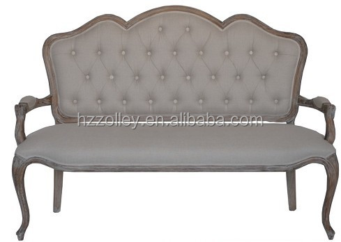 American Old Fashion Home Furniture 321 Seat Arm Chair Sofa