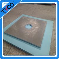 Concrete Shower Pan xps base easy installing board