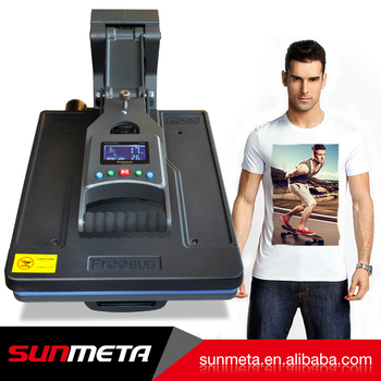 sunmeta machine factory product new flat machine for t-shirt mug printing