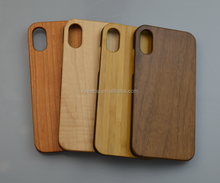 Wood+PC mobile phone back cover for iPhone 8 case