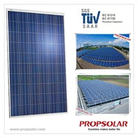 Best Price and Best Quality Propsolar SGS,TUV certificate 250w solar panel