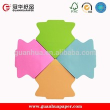 Professional manufacture custom shaped sticky notes