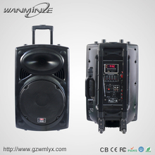 Profitable Business 10Inch Trolley Portable Battery Powered Guitar Speaker