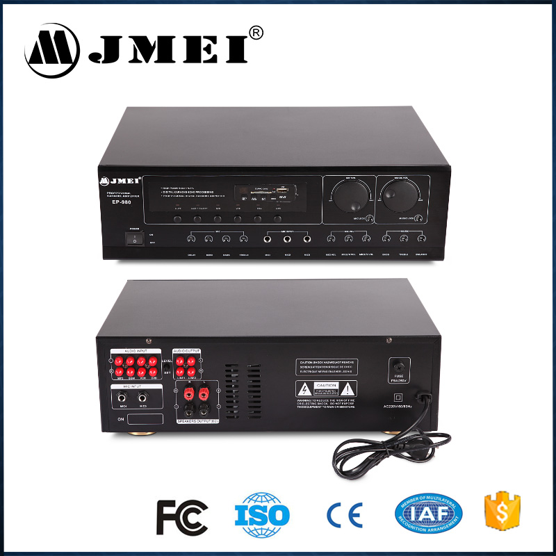 Professional high quality home compact audio amplifier