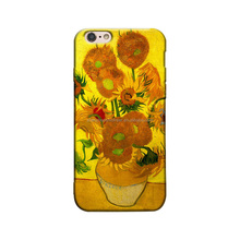 TPU Frosted phone case manufacturing flower mobile phone case