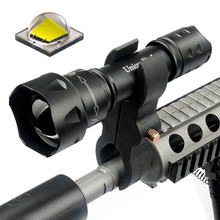 UniqueFire UF-T20 <strong>CREE</strong> XM-L2 10W White ZOOM rechargeable long range led flashlight