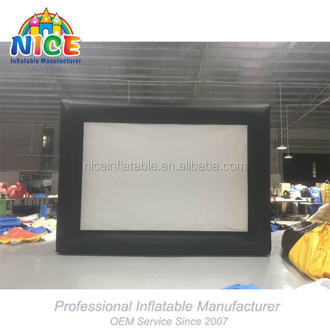 2018 China factory inflatable screen inflatable movie screen for sales