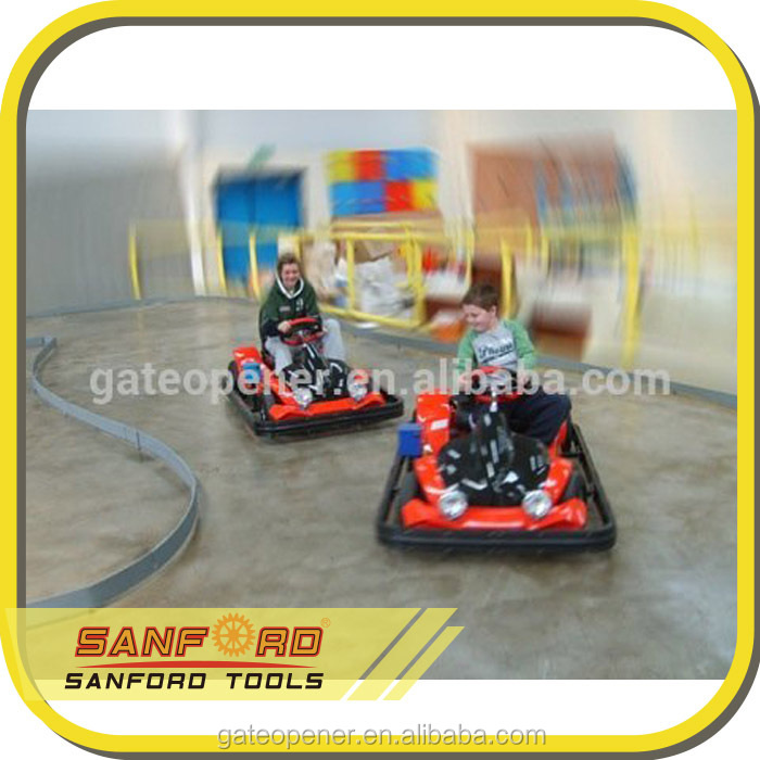cheap gas go karts with optional safety bumper/E-time/Coin timer