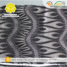 B45195 Latest fashion african mesh lace high quality polyester embroidery tulle lace fabric
