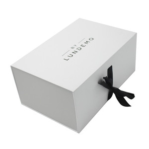 Square Print Storage Shoes Foldable Box Custom Logo White Paper Cardboard Glossy Laminated Packaging Cheap Plain Shoe Boxes