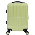 2016 beautiful abs pc travel style luggage trolley suitcase bags cases set