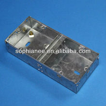 BS Electric Decorative Square Junction Box Cover