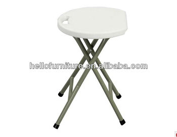 Garden plastic collapsible stool