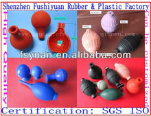 Medical blood pressure silicone suction bulb / Medical Rubber Bulb Suction Bulb / blood pressure ball
