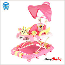 2015 new rocking inflatable baby walker safety lovely walker for baby
