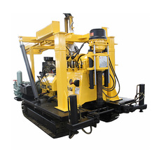 100m 300m 600m hydraulic core track mounted drilling rig for water drilling and soil test
