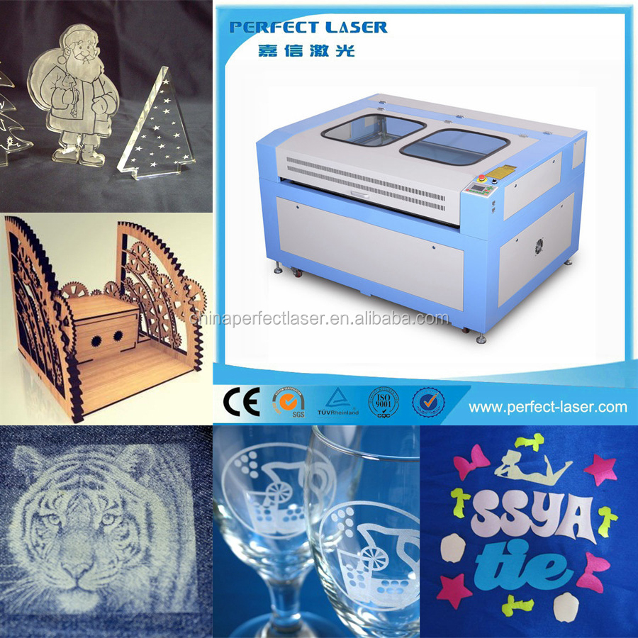 Mini Leather/Wool/Cloth/Acrylic CNC CO2 Laser Engraving&Cutting Machine/label/sticker laser processing