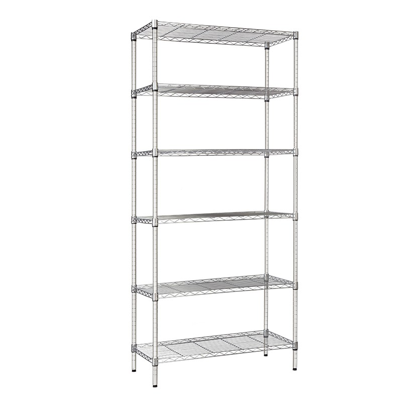 XM_303B 6 Tier closet wire shelving systems