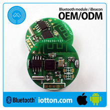 Customize NRF51822 ibeacon with ble 4.0 airport/station ibeacon module CR2450 battery