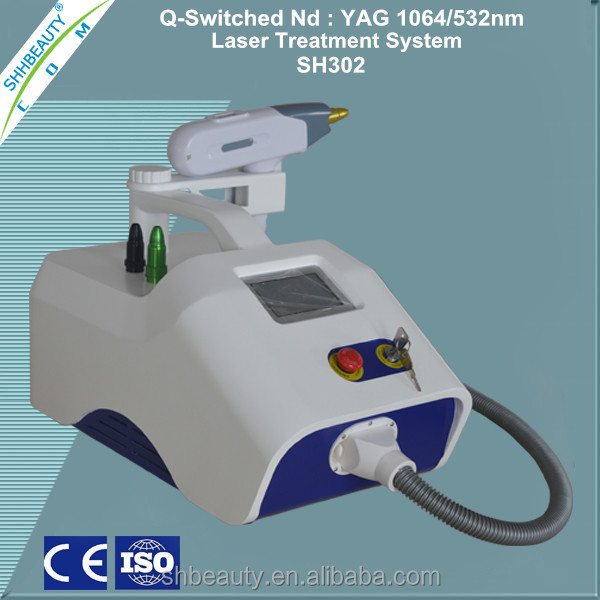 Q switched: nd yag laser /eyeline removal Yag laser /home nd yag laser