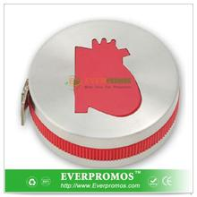 Customized Heart Shape Stainless Steel Tape Measure With Icon Button For Center America
