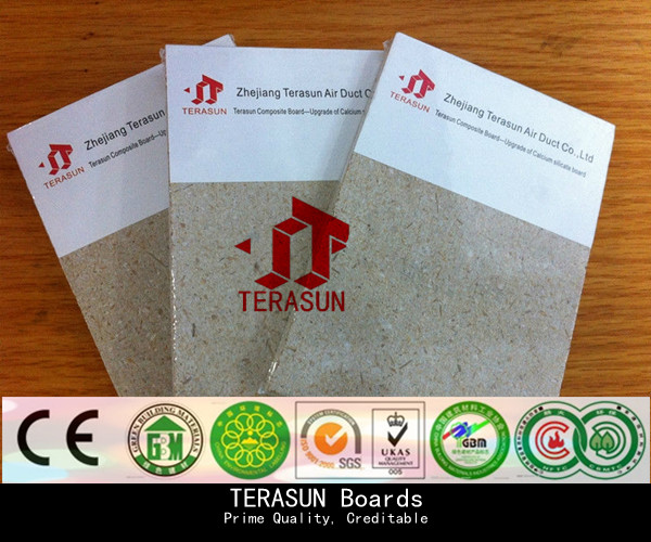CE approval high quality waterproof fireproof composite board