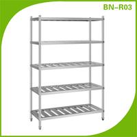 Kitchen accessory 5 tier dish rack kitchen shelf