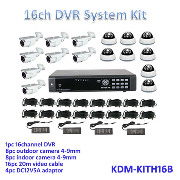 Competitive Price! Day and night vision, all in one kits! 960H 16ch HD dvr cctv kits