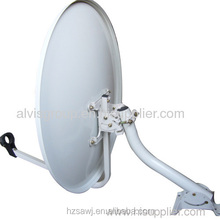 18'' OD2.0'' satellite dish antenna mounting bracket for 45cm/60cm/75cm/90cm/120cm KU band dish