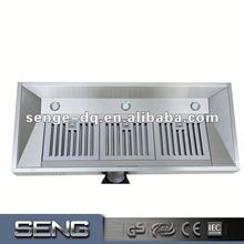 Latest Arrival low price under cabinet Home Electric range hood with green carbon filter