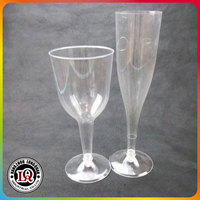 Clear Wine Glasses Champagne Flutes Party Celebration Cups